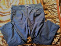 Turn-Up Chino Trousers, size 20