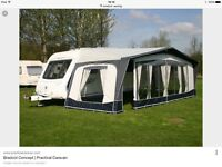 Bradcot Caravan awning with annex like new