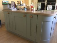 Kitchen unit doors by Symphony in Ashbourne Sage, brand new.