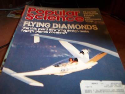 Popular Science Jan 1986 Flying Diamonds