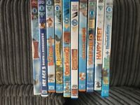 Childrens animated DVD's incl Ice Age 3, Madagascar, Happy Feet etc
