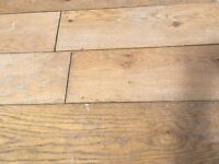 Natural Solid Oak Wood Flooring approx 139mm wide