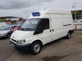 ford transit 350 lwb van 12 months mot lots of service recolds only £1895