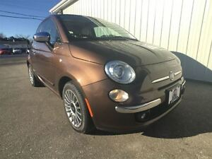 2013 Fiat 500 LOUNGE| HEATED SEATS | SUNROOF | NAV |