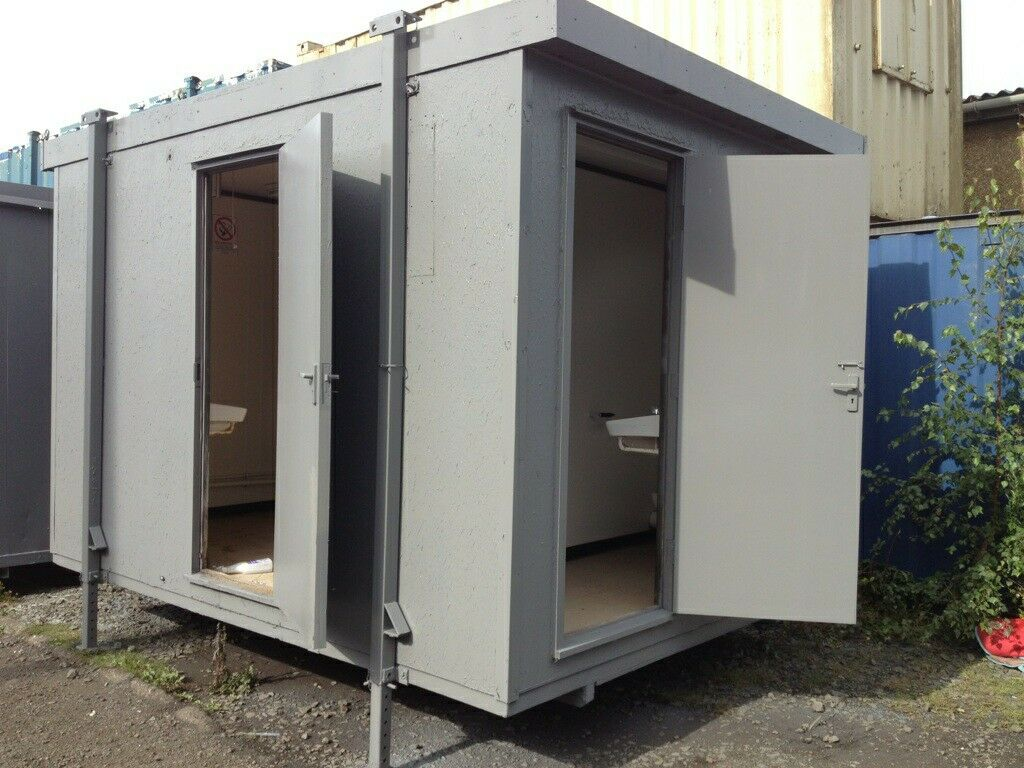 Site toilet toilet block portable toilet portable cabin - Shipping container public bathroom ...