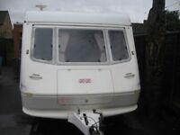 elddis 1998 small light 2 berth caravan in vgc condition