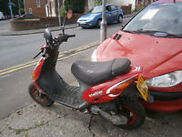 GILERA STALKER 50CC MOPED COMUTOR SCOOTER