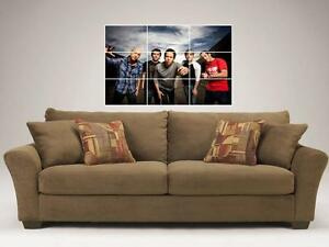 SIMPLE-PLAN-35-X25-MOSAIC-WALL-POSTER-POWER-POP-PUNK-PIERRE-BOUVIER