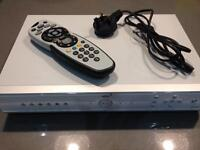 SKY+ Box with remote.