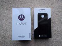 Motorola Moto Z Handset and INCIPIO off-grid power pack moto mod. (BRAND NEW-UNOPENED)