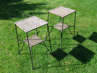 Garden Stools/Tables (or Pot Stands) (Multiple Uses)