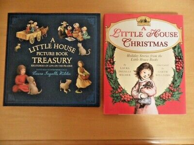 A Little House Picture Treasury 6 Stories & Christmas Book Laura Ingalls Wilder ()