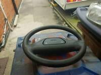 Ford escort rs turbo series 2 steering wheel