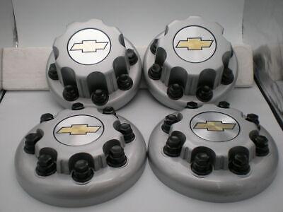 (4)  Set 03-16 Chevrolet Silverado Express 3500 Dually OEM Center Caps