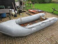ZODIAC INFLATABLE SPORTS BOAT RIB 14FT MK2 PUMP PADDLES