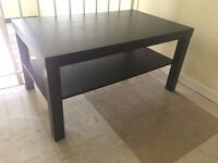 IKEA Lack Coffee Table - Black/Brown Wood Veneer | Good Condition |