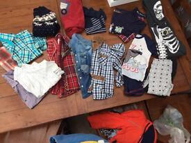 Boys clothes ages 3-4