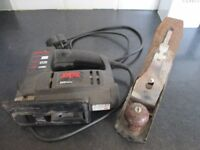 ELECTRIC JIGSAW AND HAND PLANE