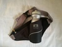 Nathan water bottle belt with zip compartment. Excellent condition, unused.