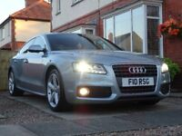 Audi A5 S-Line Sportback REDUCED - Stunning Monza Silver FSH 68,000 REDUCED!!