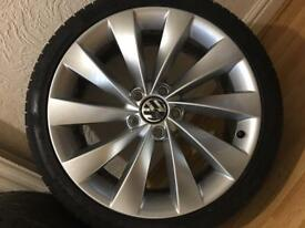 Scirocco vw alloy wheels and tyres genuine