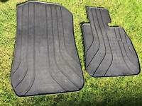 BMW e90/e91/e92 genuine rubber front car mats