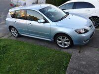 Mazda 3 sport,07,Great condition,74k,£1900