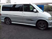 Mazda Bongo Friendee day van complete with drive away inflatable awning and camping equipment