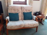 FREE Three ( 3 ) piece suite - 2 sofas and armchair - great condition FREE
