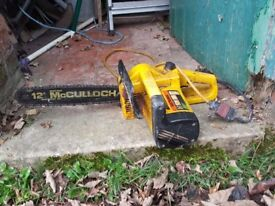 Mcculoch Electric Chainsaw