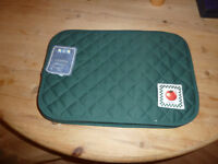 Quilted table mats, Green Tomato's