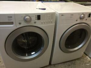 82-Laveuse Sécheuse Frontales  LG Frontload Washer Dryer