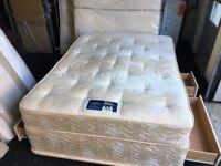 Silentnight Kingsize storage divan bed (FREE DELIVERY)