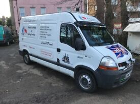 Renault master mobile car wash business
