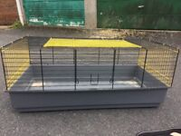 Hamster and rat cage with accessories