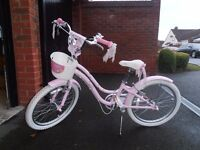 "IMMACULATE Girls 20""Pink Mystic TREK Bicycle"