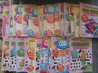 puzzle magazines brand new