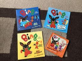 4 Bing Bunny Books