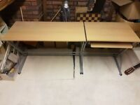 Long Office Desk - Great Condition