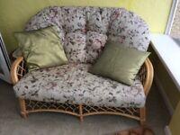 Patterned cane conservatory furniture