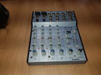 Alesis Multimix 6FX mixer with FX