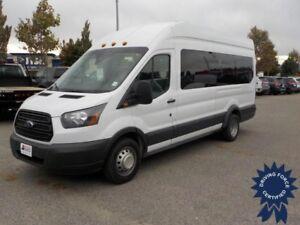 "2015 Ford Transit T-350 148"" EL High Roof XL (Seats 15), 3.2L"