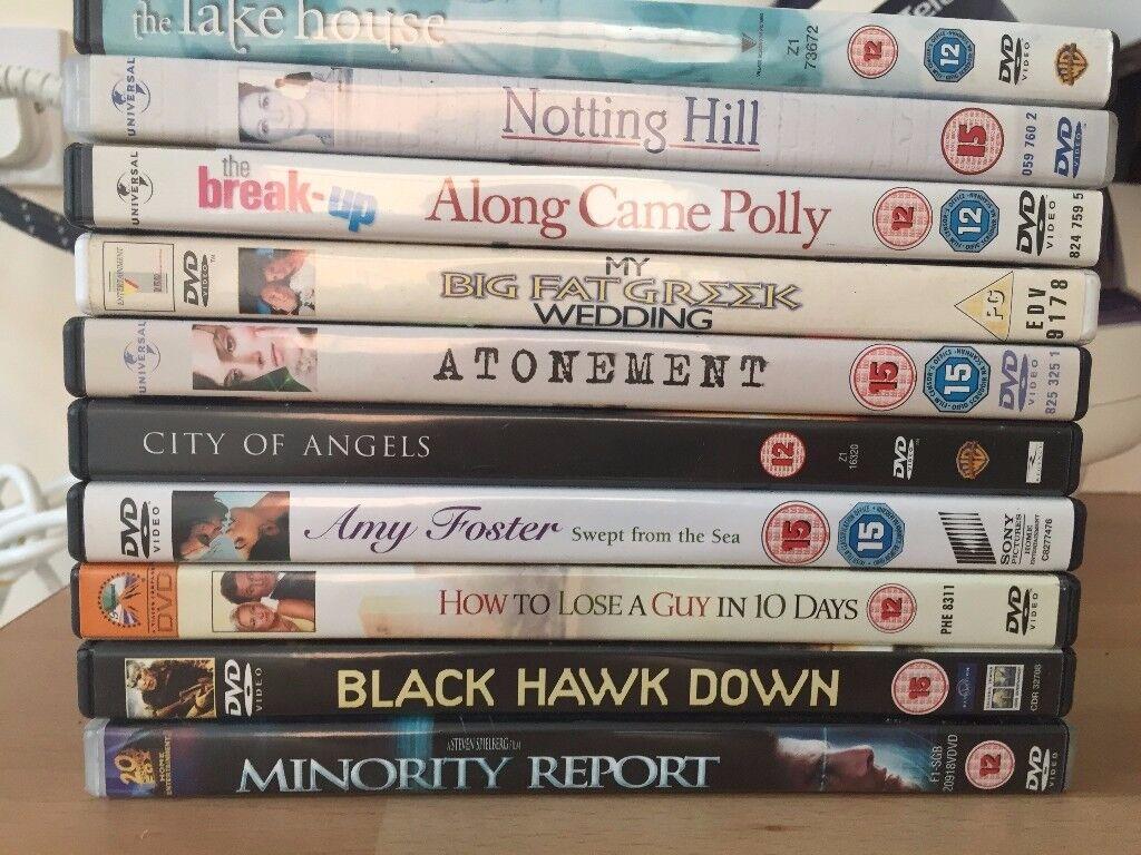 11 DVD'S
