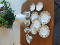 Sienna Midwinter Coffee Cups, Saucers, Plates and Jug