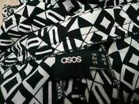 Asos harem trousers in size 10
