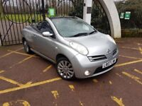 2007 Nissan Micra C+C Sport 1.6 with Panoramic drop top **NEW CLUTCH**12 Months MOT**Going CHEAP**