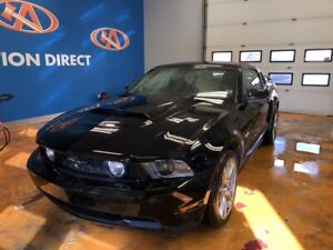 "2012 Ford Mustang GT 5.0 GT/ 6 SPEED/ 19"" ALLOYS/ LEATHER/ PO..."