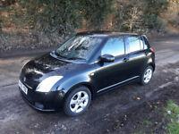 Suzuki Swift 1.5 GLX, 2005, Black
