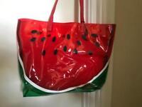 Melon beach bag