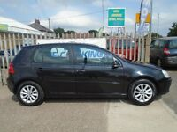 VOLKSWAGEN GOLF 1.9 TDI Match 5dr (black) 2007